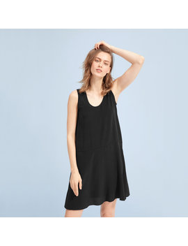 The Clean Silk Sleeveless Dress by Everlane