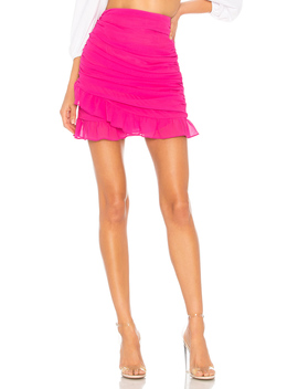 Lorraine Ruched Skirt by About Us