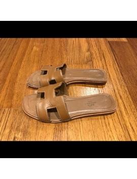 Hermes Oran Sandal Size 36 Gold by Hermes