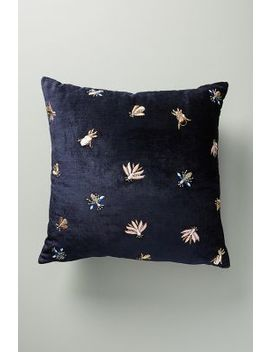 Velvet Wyatt Cushion by Anthropologie