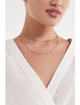 Frasier Sterling Silverlake Layer Necklace by Frasier Sterling