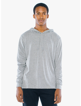 Tri Blend Pullover Hoodie by American Apparel