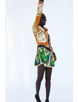 Chain Patchwork Print Dress  Última Semanamulher by Zara