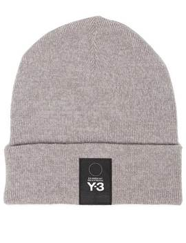 Y 3logo Patch Beaniehome Men Y 3 Accessories Hats by Y 3