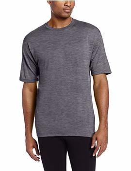 Minus33 Merino Wool Men's Algonquin Lightweight Short Sleeve Crew by Minus33 Merino Wool