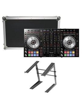 Pioneer Dj Ddj Sx2 Dj Controller W/ Case & Laptop Stand by Pioneer Dj