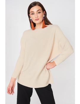 Fine Knit Oversize Sweater by Na Kd