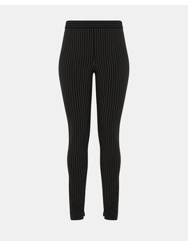 Pinstripe Perform Tech High Waisted Legging by Theory