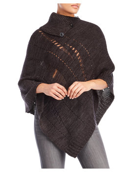 Distressed Poncho by V. Fraas