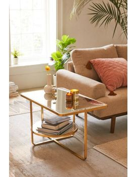 Geneva Mirrored Coffee Table by Urban Outfitters