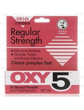Oxy 5 Acne Pimple Medication by Mentholatum