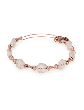 Coral Flower Halo Beaded Bangle by Alex And Ani