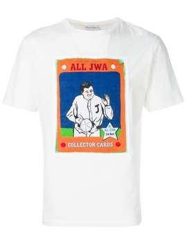 Jw Andersonbaseball Card T Shirthome Men Jw Anderson Clothing T Shirts by Jw Anderson