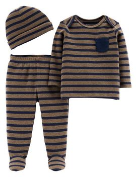 3 Piece Certified Organic Take Me Home Set by Carter's