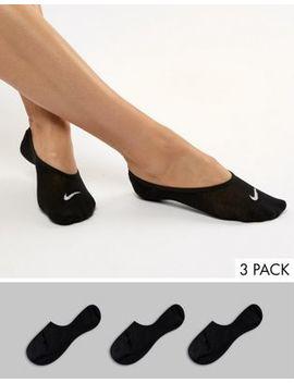 Nike   Lot De 3 Paires De Socquettes   Noir by Nike