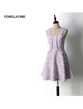 Fomolayime New Autumn Dresses 2018 Women European High Fashion Strapless Party Dress Women by Fomolayime