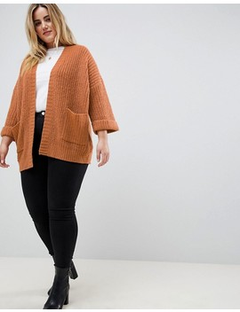 Brave Soul Plus Raza Loose Fit Cardigan by Cardigan