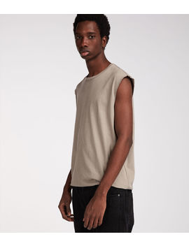 Heton Sleeveless Crew T Shirt by Allsaints
