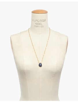 Aventurine Pendant Necklace by Madewell