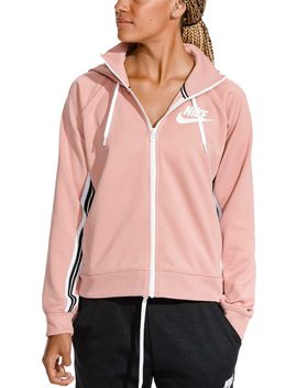 Nike Women's Sportswear Full Zip Tracksuit Hoodie by Nike