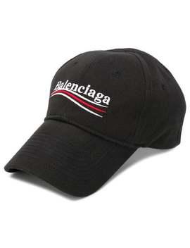 Balenciaga New Political Logo Baseball Caphome Men Balenciaga Accessories Hats by Balenciaga