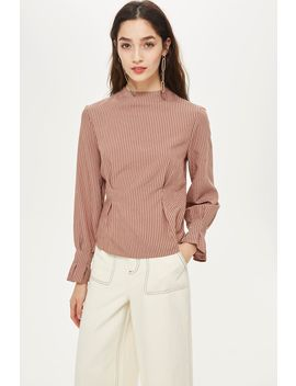 Stripe Tuck Top by Topshop