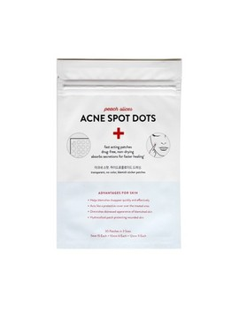 Peach Slices Acne Spot Dots Facial Treatment   30 Patches by Shop All Peach Slices