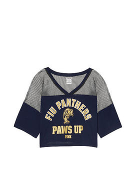 Florida International University Athletic Mesh Tee by Victoria's Secret