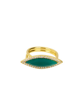 Semi Precious Surf Ring by Henri Bendel