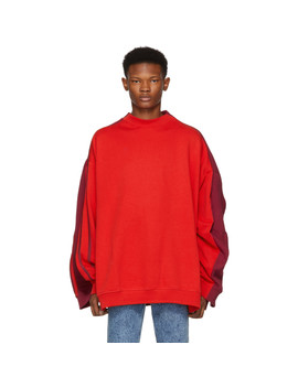 Red Double Sweatshirt by Y/Project