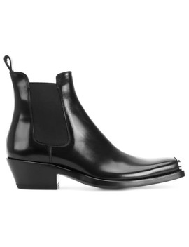 Calvin Klein 205 W39nyc Chelsea Boots With Toe Caphome Men Calvin Klein 205 W39nyc Shoes Boots by Calvin Klein 205 W39nyc