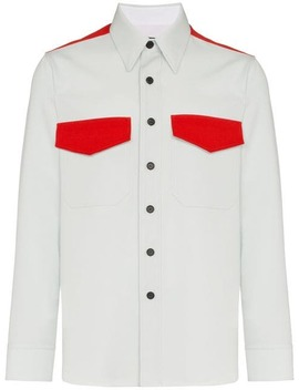 Calvin Klein 205 W39nycflap Pocket Virgin Wool Shirthome Men Calvin Klein 205 W39nyc Clothing Shirts by Calvin Klein 205 W39nyc