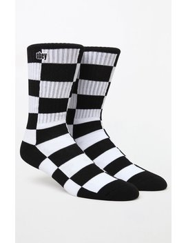 Checkers Crew Socks by Obey