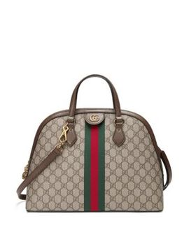 Ophidia Gg Medium Top Handle Bag by Gucci