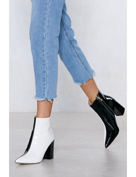 Double Take Two Tone Boot by Nasty Gal