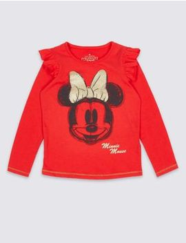Minnie Mouse™ Top (3 Months   7 Years) by Marks & Spencer