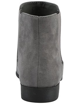 Grey Faux Suede Chelsea Boots by Asda