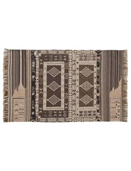 Isaac Synthetic Kilim Rug   Neutral Multi by Pottery Barn