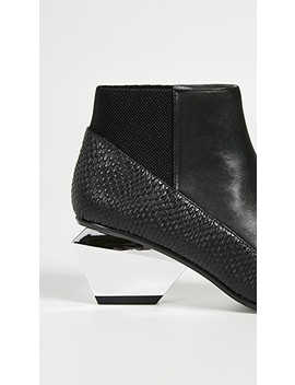 Jackie Metal Mid Heeled Boots by United Nude