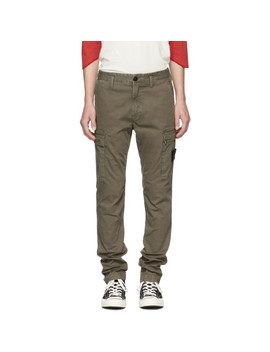 Green Cargo Pants by Stone Island