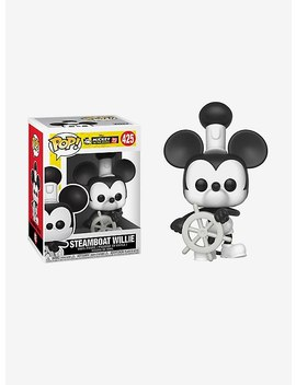 Funko Disney Pop! Steamboat Willie Mickey Mouse Vinyl Figure by Hot Topic