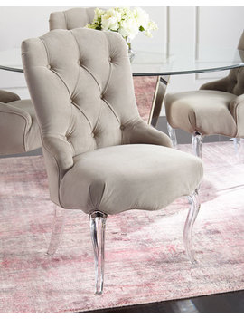 Aveline Tufted Dining Chairs, Set Of 2 by Neiman Marcus