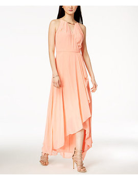 Surplice Flutter Maxi Dress by Sangria