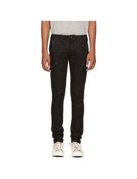 Black Cargo Jeans by Amiri