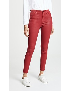 Charlie Coated Skinny Ankle Jeans by Joe's Jeans