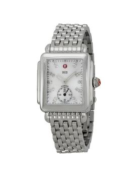 Michele Deco 16 Stainless Steel Diamond Ladies Watch by Michele
