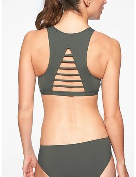 Makaha High Neck Reversible Bikini Top by Athleta