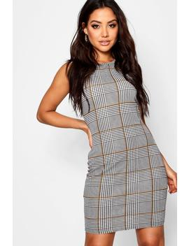 Check Mini Dress by Boohoo