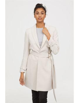 Kabát övvel by H&M