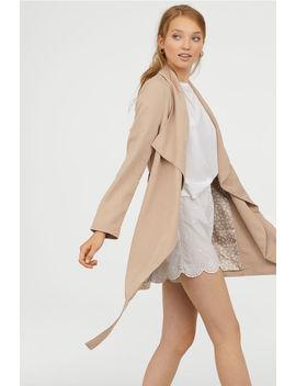 Kabát Lágy Esésű Hajtókával by H&M